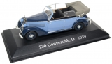 Mercedes Benz 230 CONVERTIBLE D (W153) 1939 - 1:43