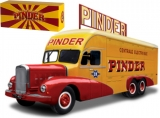 1:43 - BERNARD 28 CIRCUS PINDER POWER STATION WAGON 1951