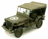 1:43 -     JEEP WILLYS 4X4 W SOFT TOP