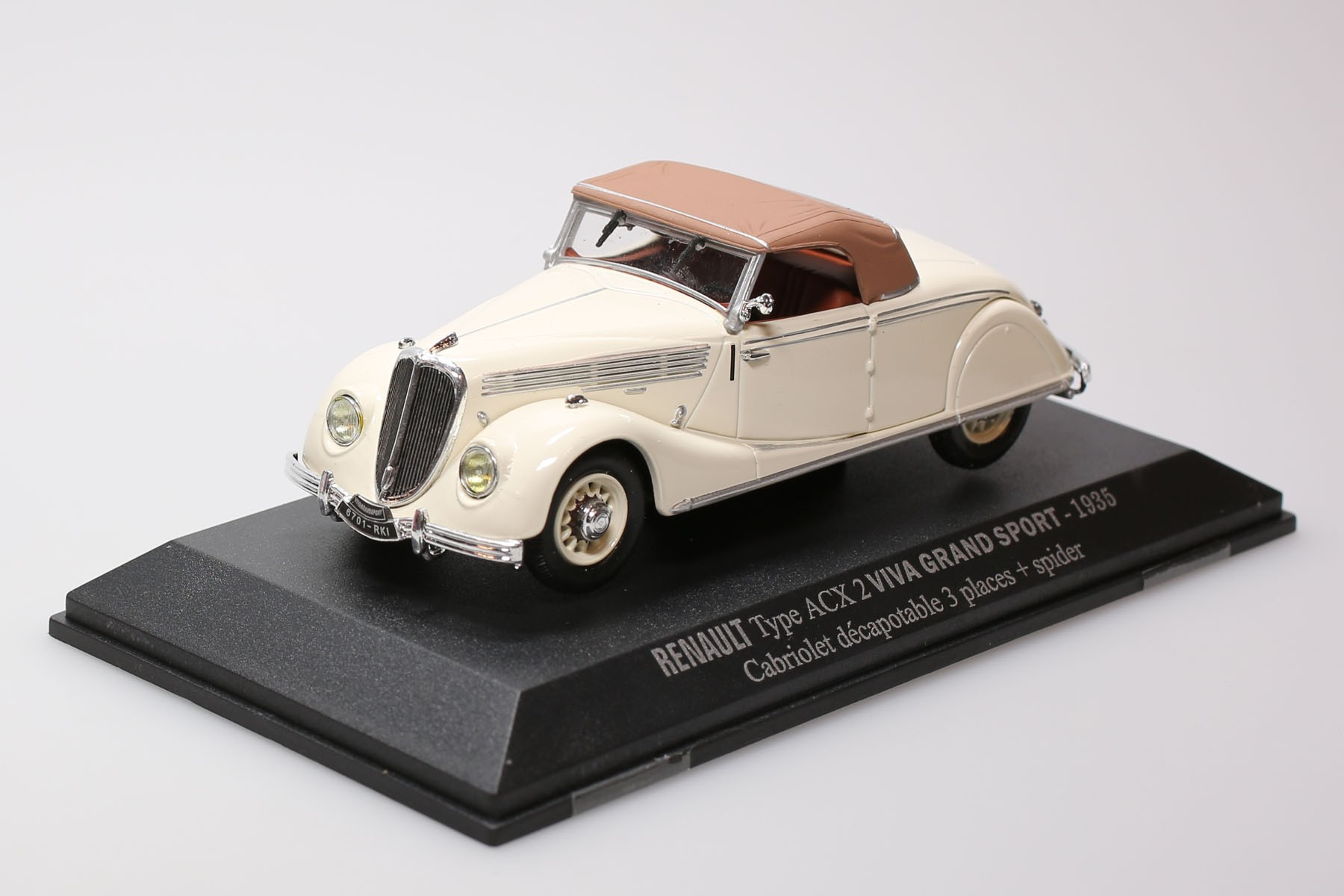 RENAULT ACX2  - 1935