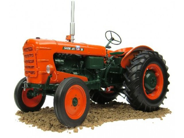 1:43 - Tractor FIAT Someca 40H  - 1957